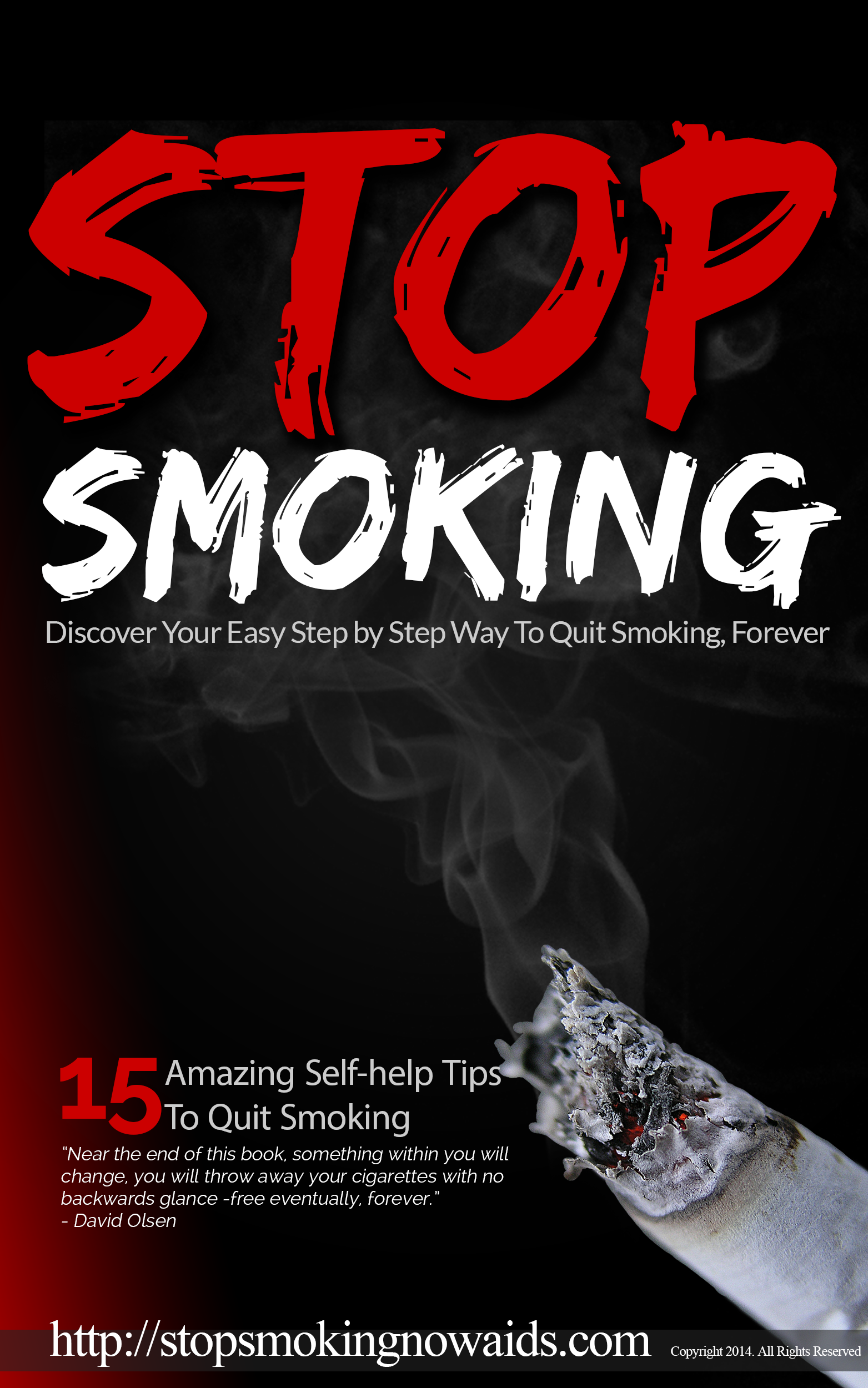 15 self tips to quit smoking pdf image