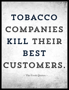 lung cancer smokings biggest killer Tobacco-Companies-Kill-Their-Best-Customers.