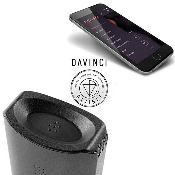 DaVinci IQ Vaporizer-app inside