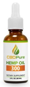 CBDPure 300mg Only $54.99 Now Get 10% Off