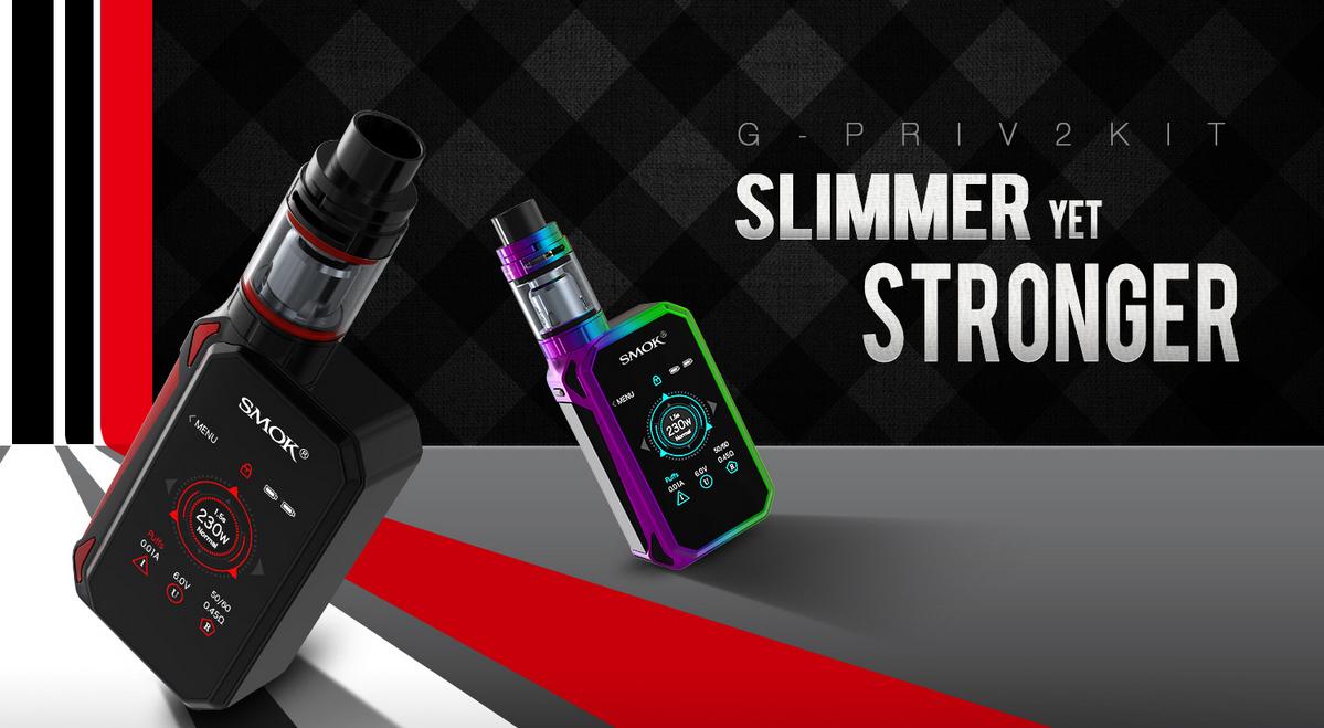 SMOK G-PRIV 2 Kit Overview-Slimmer Yet Stronger